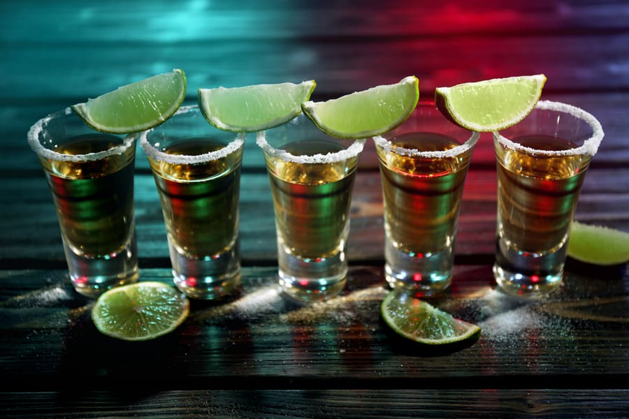 which are the strongest shots of alcohol